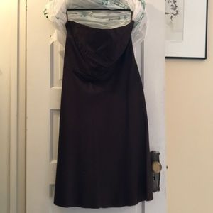 Banana Republic strapless cocktail dress
